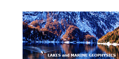 Lakes and marine geophysics