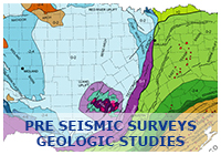 Pre-Seismic Survey Geologic Studies