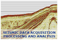 Seismic Data Acquisition, Processing, and Analysis