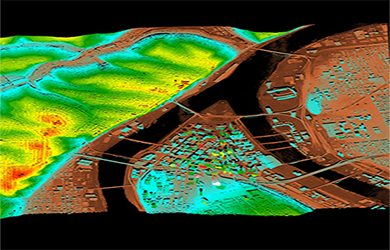 Digital Topography in GIS env.